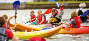 Find a paddling equipment hire centre.