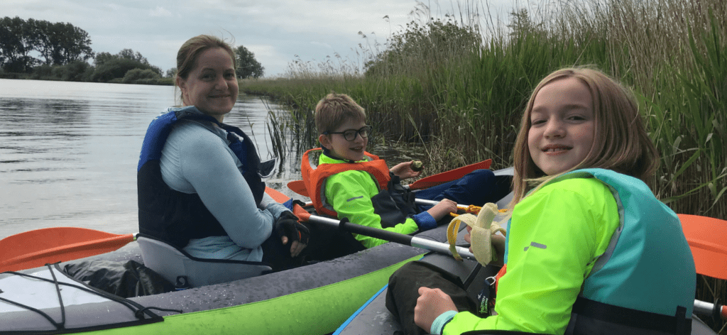 top tips for paddling with kids