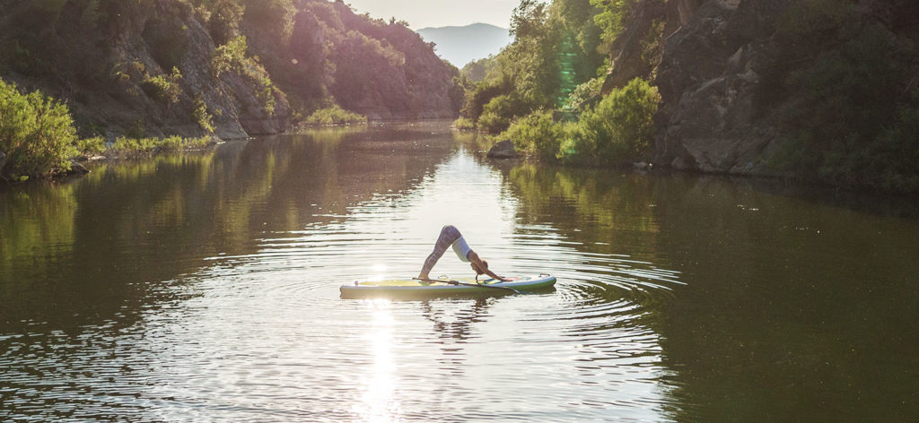 what to wear for a SUP yoga session