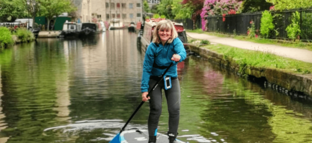why paddling good for mental health