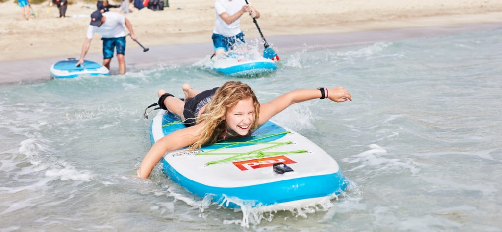 Bag a sticker. Take the August Paddle Challenge