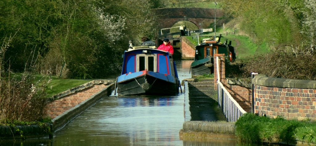 Stratford Canal at Edstone Aqueduct