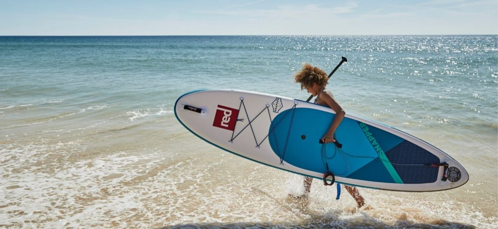 Stay safe on the water. Tip tips for beginners paddling on the sea