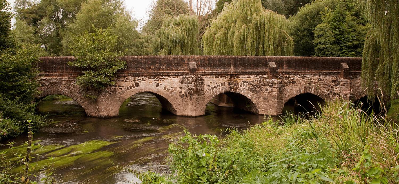 paddling river wey