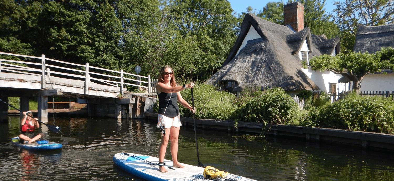 paddling holidays in England