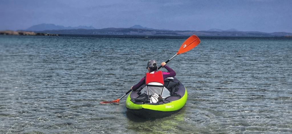 first inflatable kayak