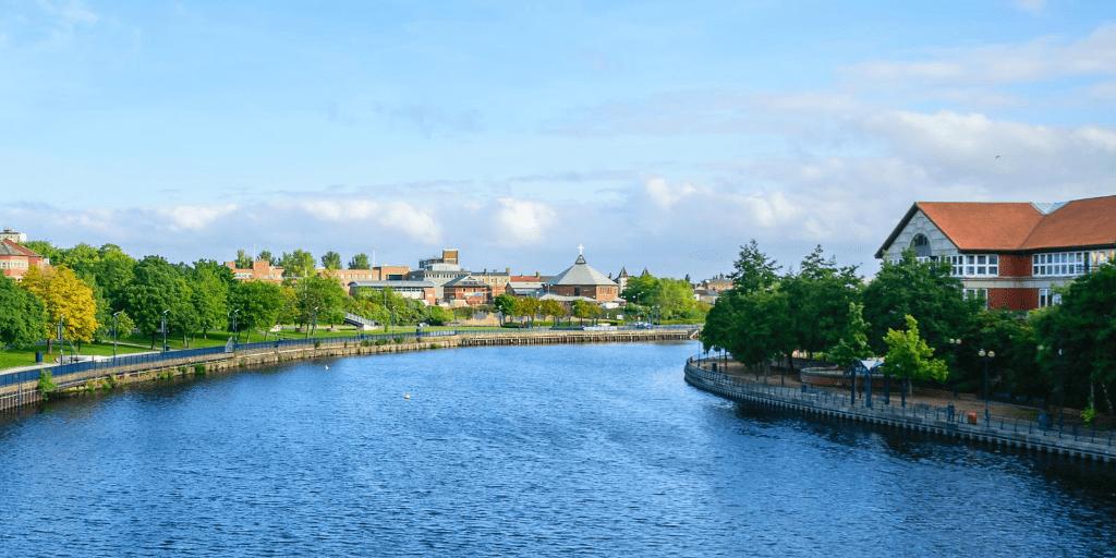 white water park