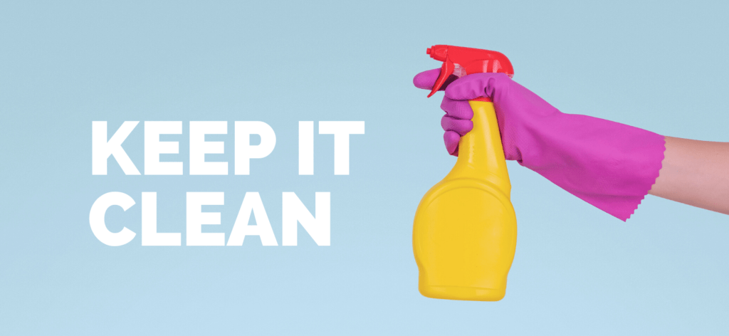 clean your kit