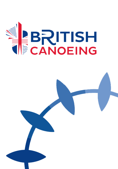 British Canoeing Membership Logo With Wheel