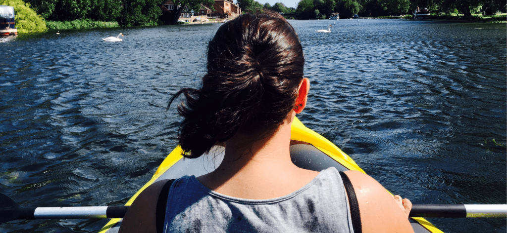 parenting and paddling