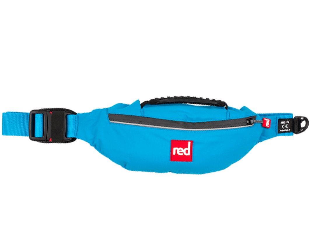 red paddle waist belt