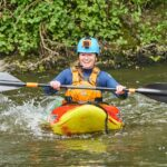 Image of Lou Hodgson kayaking