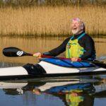 Image of Neil Boast paddling