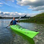 Image of Sophie Finch kayaking
