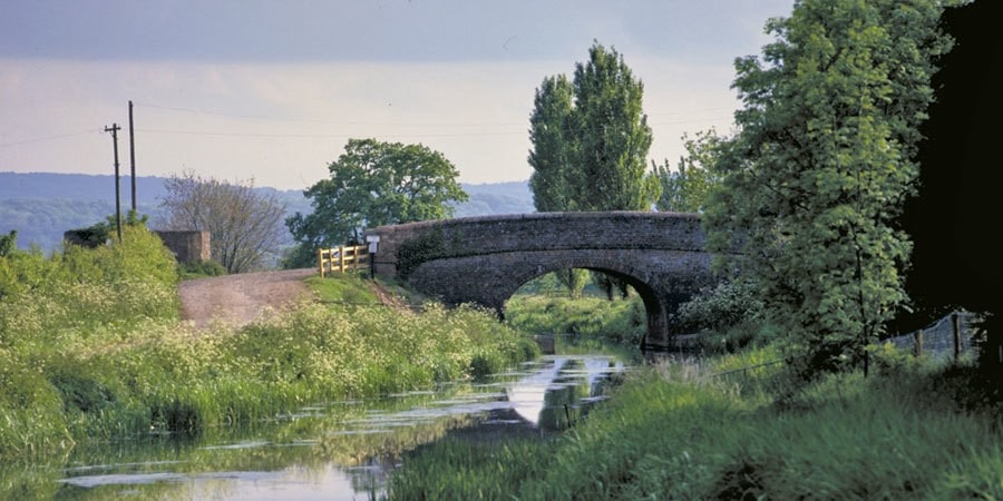 Bridgewater and Taunton Canal, South West of England