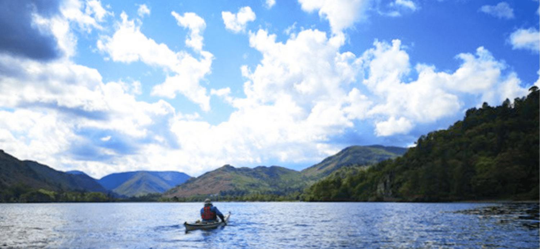 Ullswater kayaking - Lake District