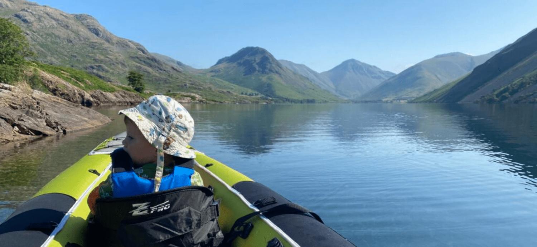 Kayaker on Wasterwater - Lake District