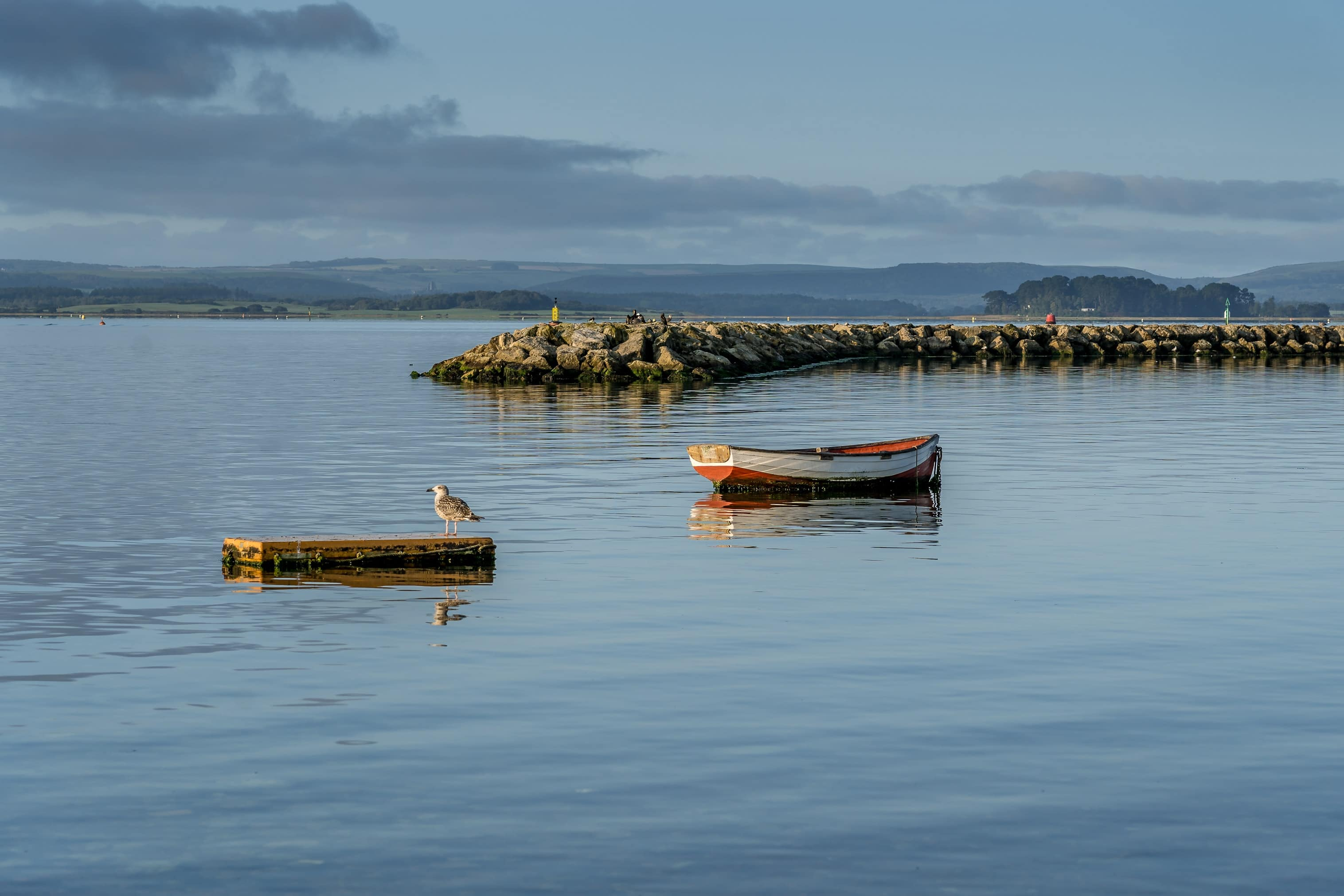 Poole Harbour, South West of England