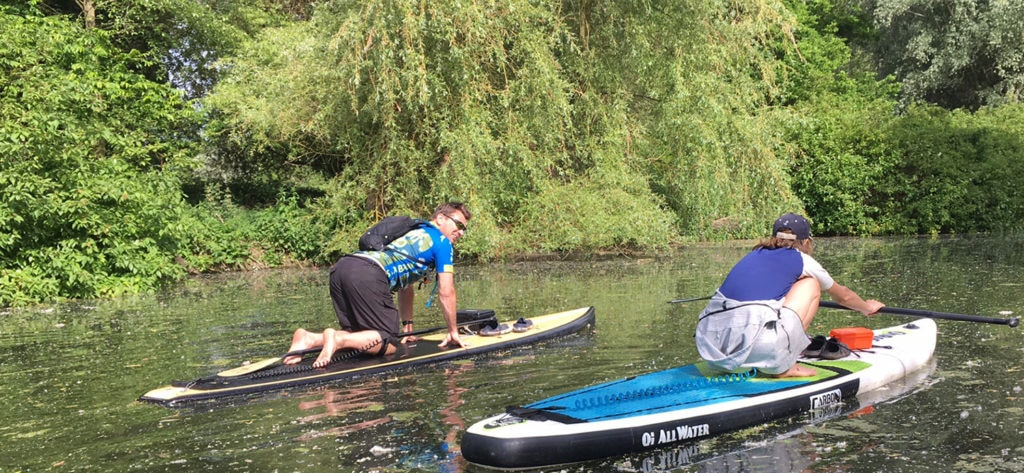 Sheltered Water Stand Up Paddleboard coach