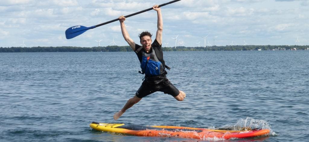 SUP Open Water Coach