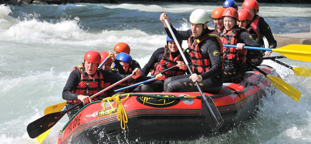 River Raft Guide