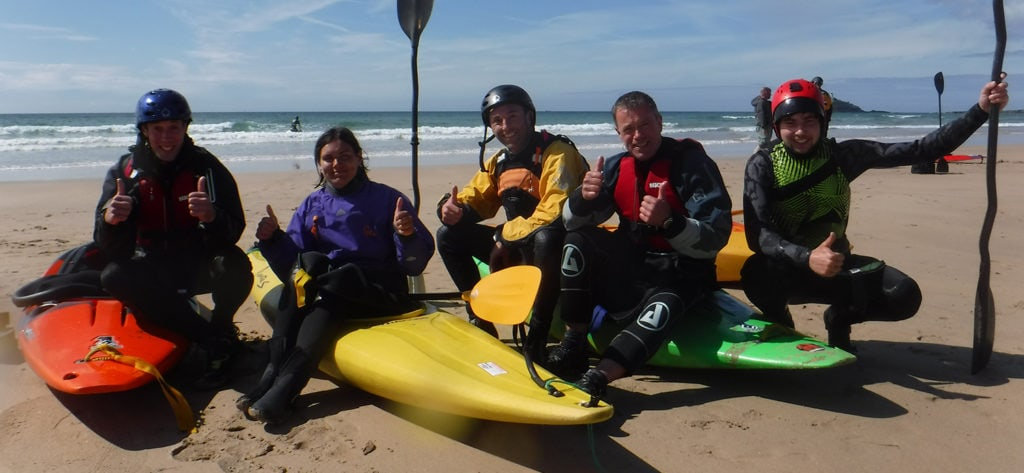 Surf Kayak Leader