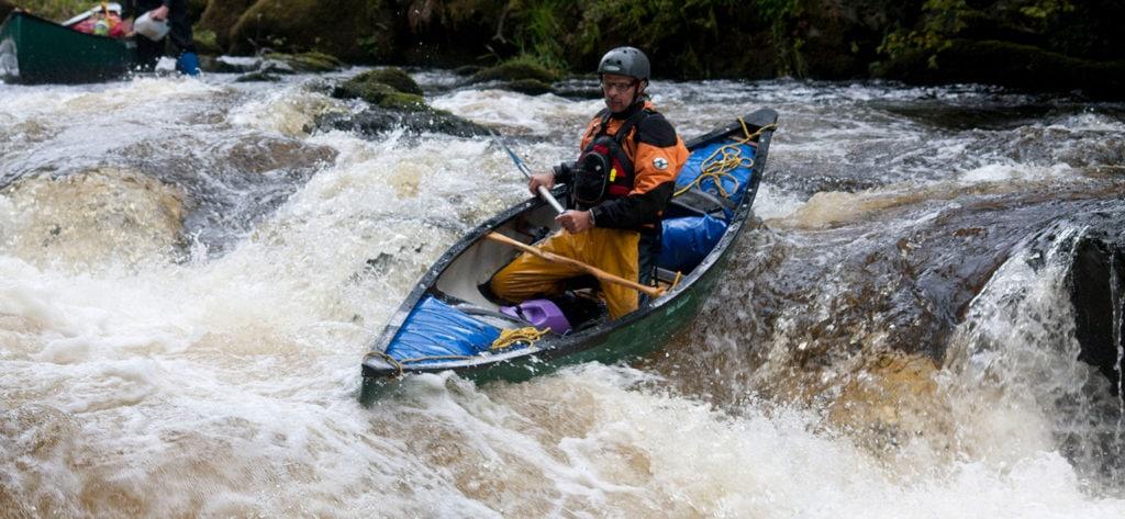 White Water Canoe Coach Advanced Water